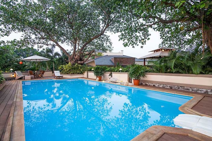 Zen villa :Luxury pool villa 15 mins from Jetty - Zirad - บ้าน