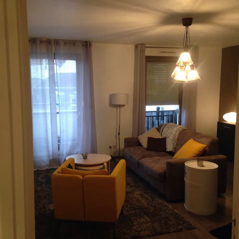 Cosy apartment in the heart of Mulhouse downtown - Mulhouse - Apartament