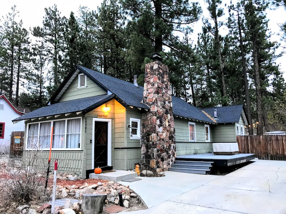 Your family 39 s big bear home away from home cabins for for Anthony lakes cabin rentals