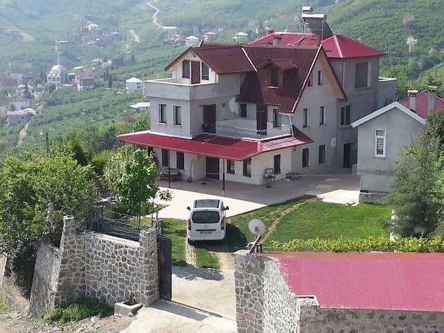 Bahceli. Doga manzarali villa - Yeşiltepe Köyü