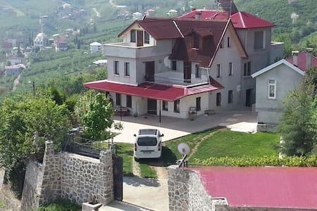 Bahceli. Doga manzarali villa - Yeşiltepe Köyü - Rumah