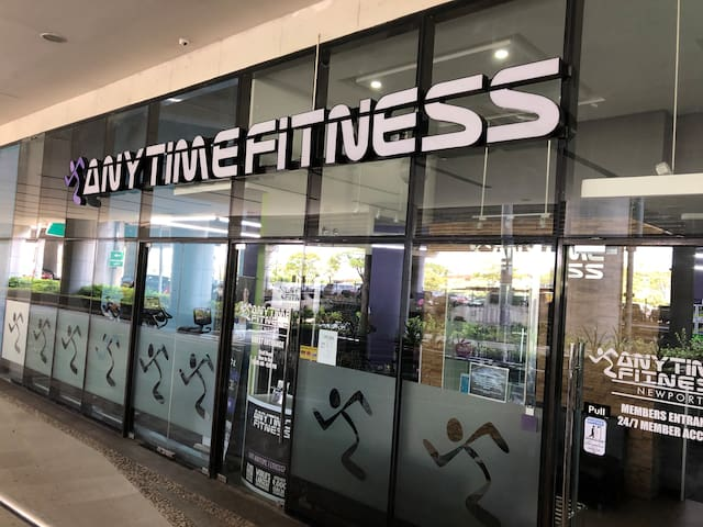 AnytimeFitness within the building (subject to fees)