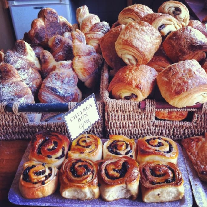 Breakfast Included - baked fresh across the road at The Old Post Office Bakery
