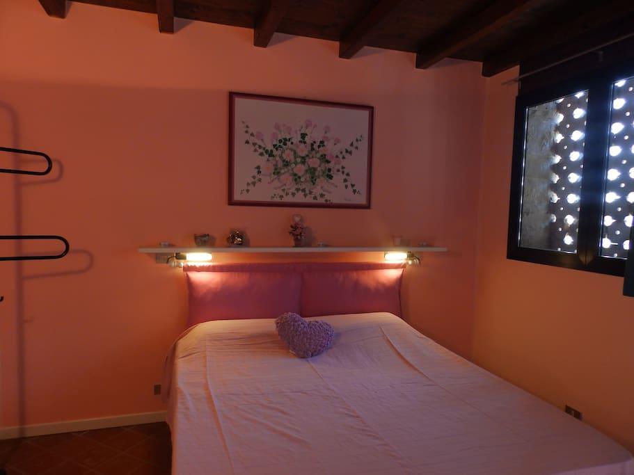 camera rosa o dei fiori di lino