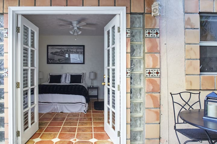 Charming Spanish Tiled Studio