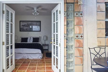 Charming Spanish Tiled Studio