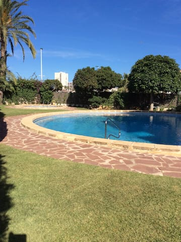 Large apartment one minute walk from Arenal beach - Platja de l'Arenal - Apartament