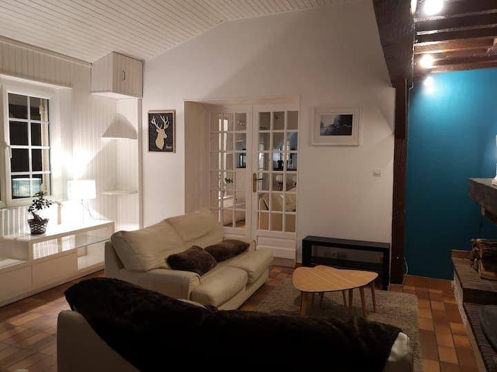 A 2 pas de Chambord, La petite Maison sur la Loire