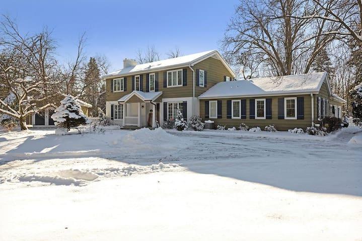 Family home in Wayzata 'Urban Suburb' ; Superbowl