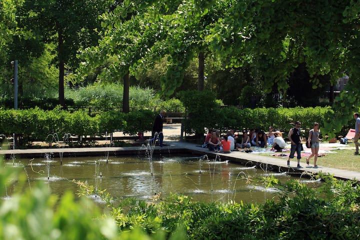 Jardins d'eau à proximité
