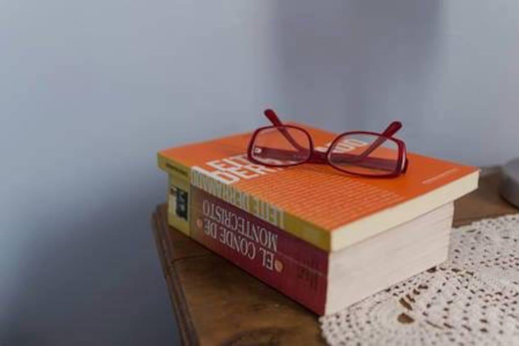 Para leer un buen libro antes de dormir