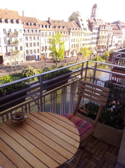 balcon du salon