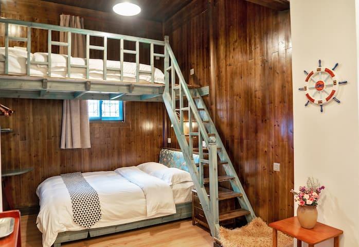 Hui Style Loft Family Room in Dunyuantang inn
