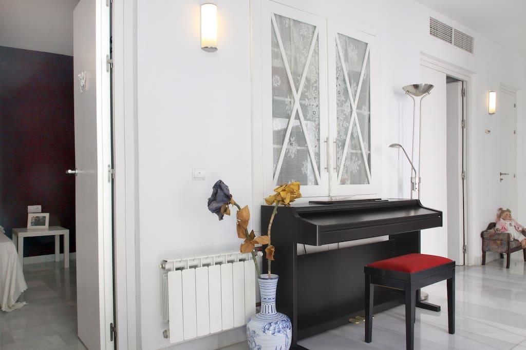 Galería acceso dormitorios
