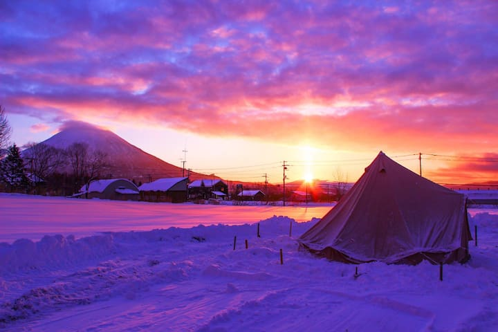 Comfortable outdoor stay in Niseko Vol.4