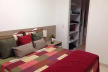 Flat c/ 3 quartos no hotel Canarius