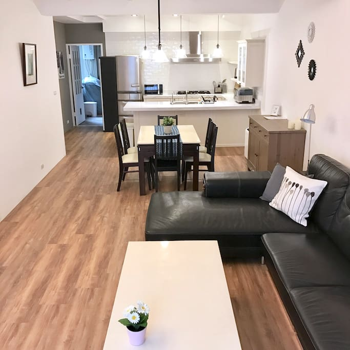 Spacious room for your friends and family