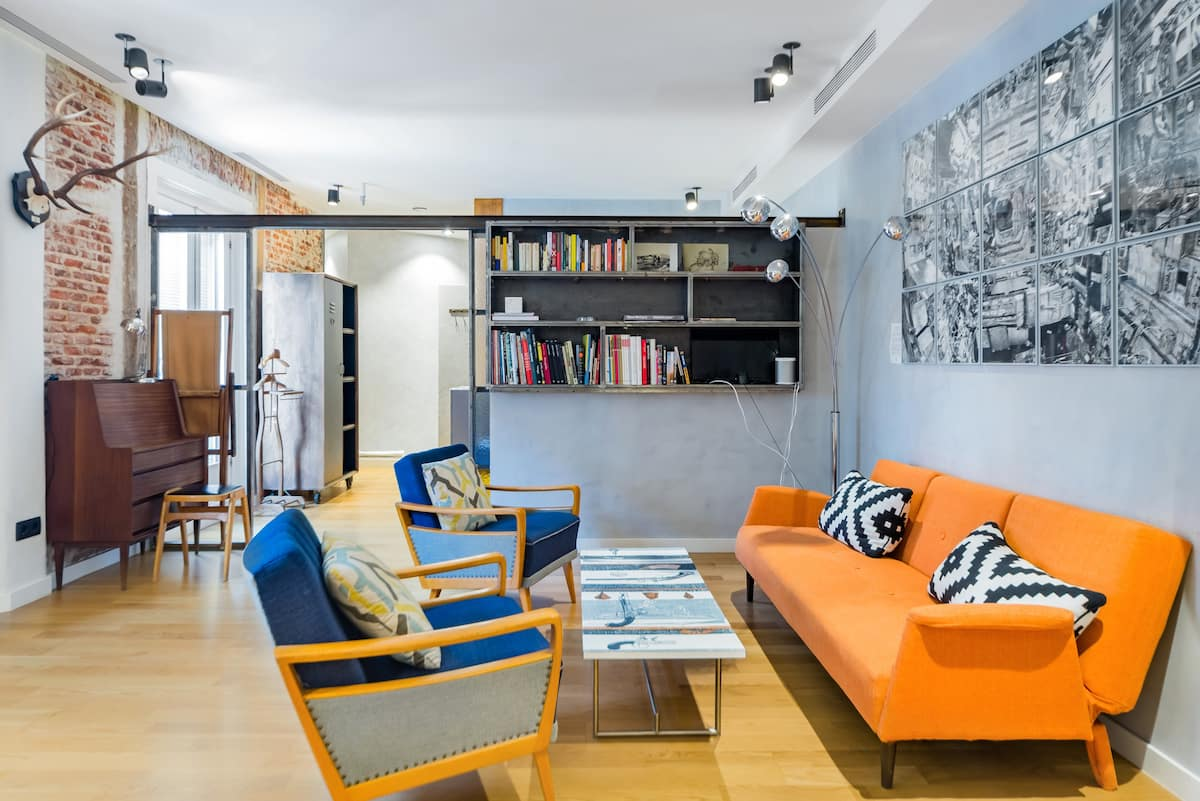 High-End Vintage Apartment in Historic Lavapiés