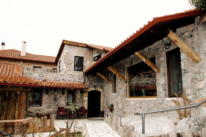 VILLA LEVIDI ♦ Stone luxury house with magic view!