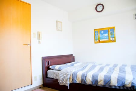 ⑨3PPL 10min to Shinsaibashi portable wifi for free - Osaka-shi Chuo-ku - Apartamento