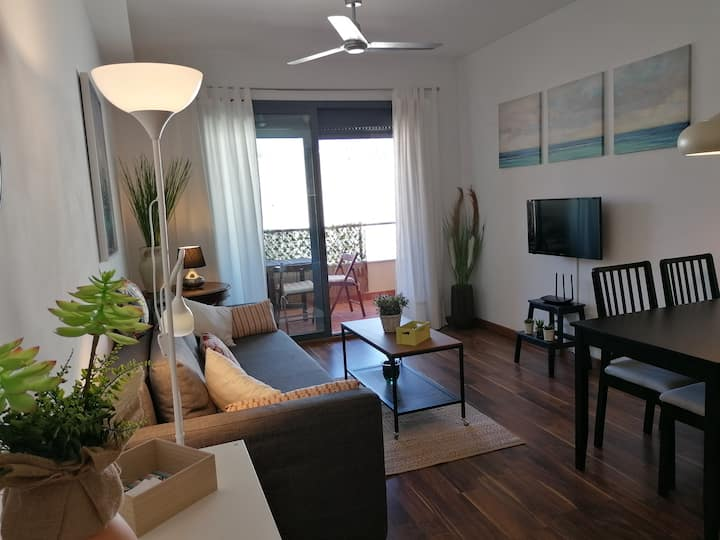 Comfortable apartment in Oliva  a / c  and Wi-Fi