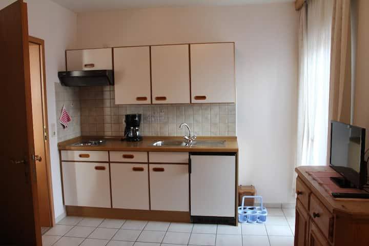 """Appartementhaus """"Haflinger Hof"""" (Bad Füssing), Typ10 (35qm) für 3 Personen mit Balkon"""