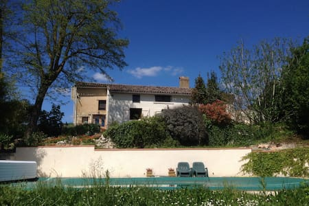 Charming farmhouse with pool near Toulouse - Bardigues - Ev