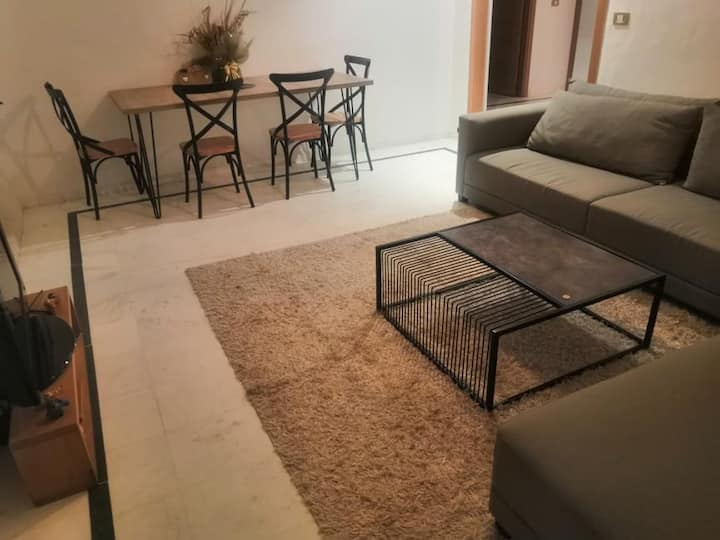 Minimalist Comfy Room in the Heart of Tunis