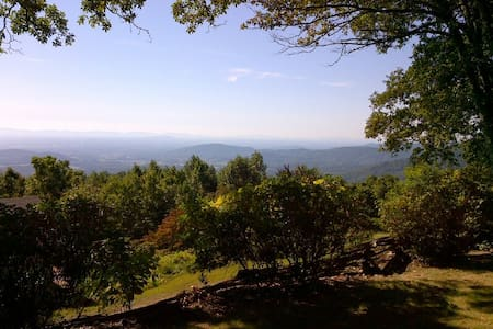 Cabin with panoramic view - The Red Fox Cabin - Stanardsville