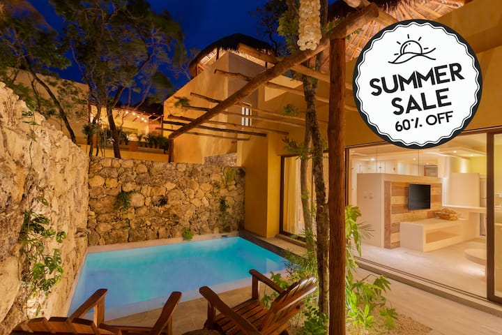 ❤ LUX Villa❤ 2 Private Pools & Jacuzzi 10★Taak