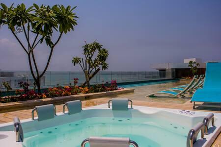 Apartamento vista al mar,  jacuzzi privado terraza