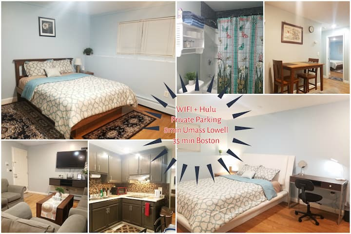 LOWELL SUNRISE Modern 2BR Condo, Parking, Downtown