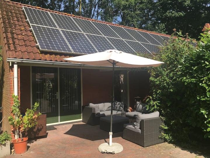 Gastenverblijf met wellness Groningen