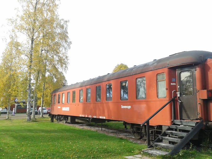 Cabin Train Kupe Rättvik near Lake