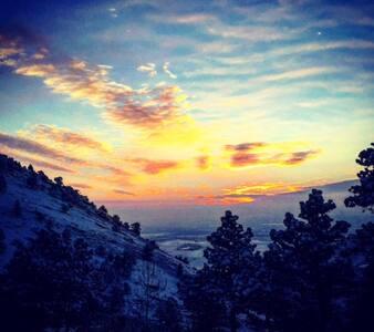 Private foothills home overlooking Boulder - Boulder - House