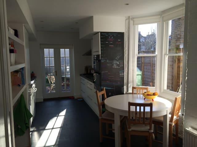 Family-friendly Edwardian house - Londres - Casa