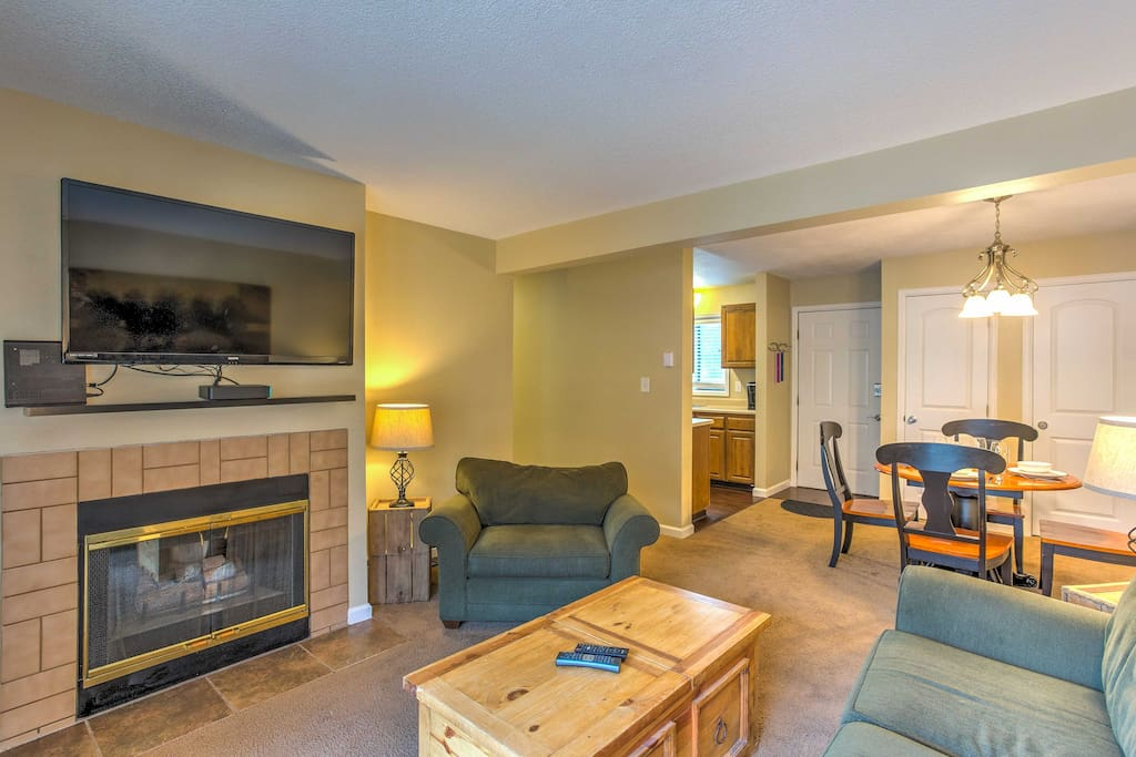 The interior is well-appointed and features all the comforts and amenities of home.