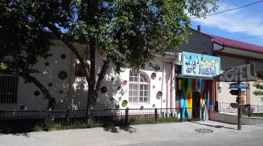 Art hostel - 4 bed dormitories in Tashkent center - Тошкент - Bed & Breakfast