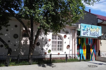Art hostel - 4 bed dormitories in Tashkent center - Тошкент - 住宿加早餐