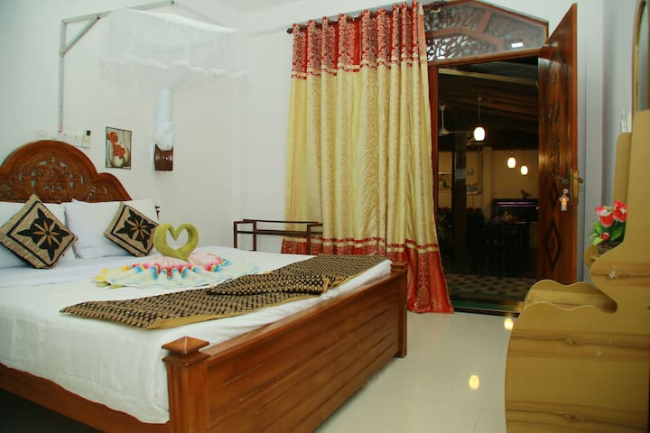 Comfy Bed, Deluxe Double Room with A/C ,TV