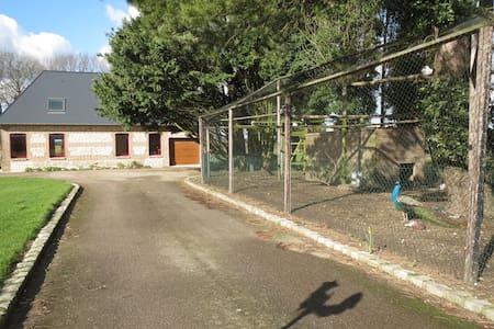 Domaine de la Garenne, Gîte à la ferme - Daubeuf-Serville