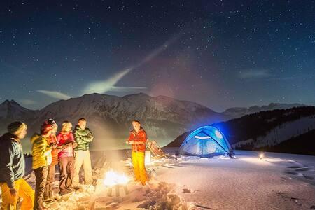 Tent Camping at Kheerganga - Himachal Pradesh - Zelt