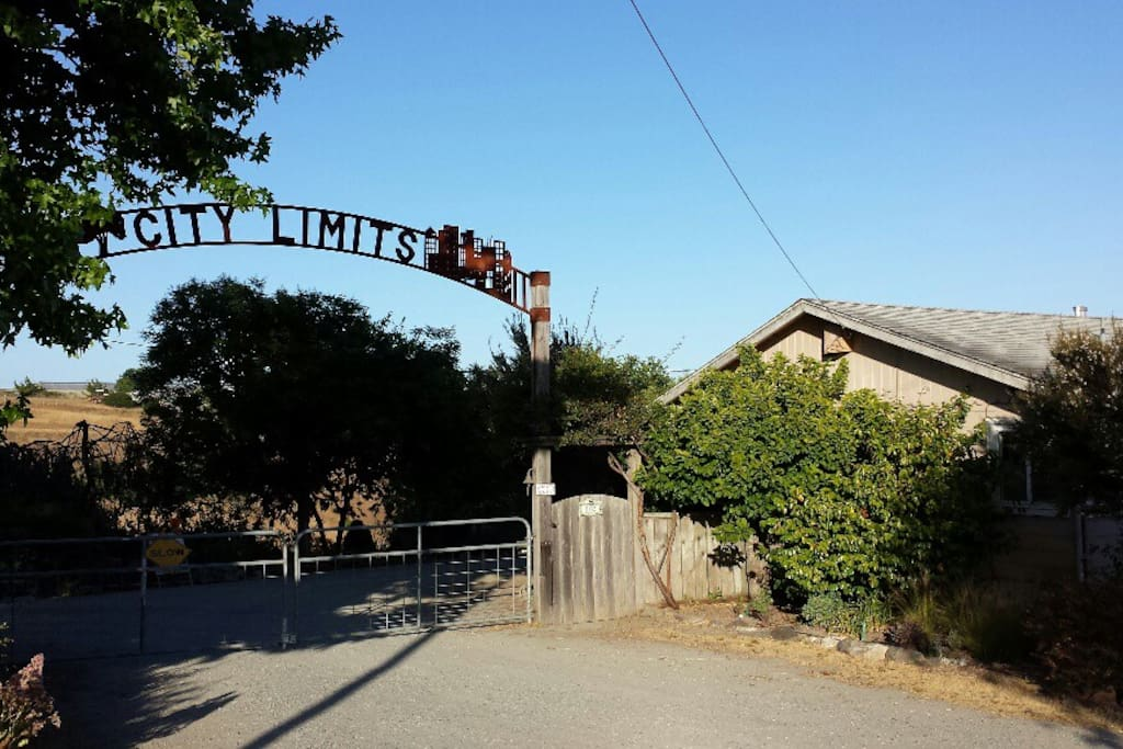 City Limits Ranch main gate