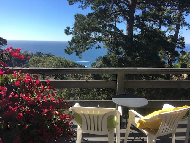 Fabulous Ocean View, Carmel Chateau Suite - Carmel-by-the-Sea - Hus