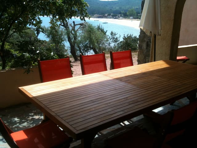 Apartment Ground floor on the Beach of FAVONE !