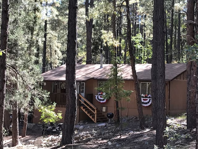 Cozy, Updated 3 Bedroom Cabin in the Tall Pines!