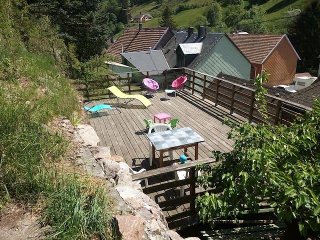 Chez Caro en plein cœur de l'Alsace.