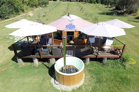 Glamping Abruzzo - The Yurt