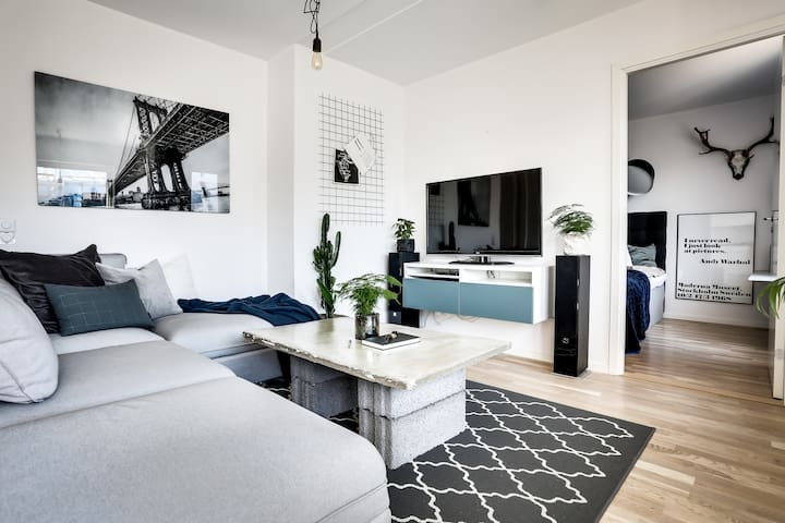 2-room apartment in the port area of Gustavsberg