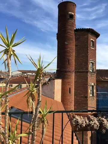 Rooftop en hypercentre - Toulouse - Apartment